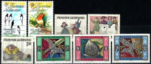 Liechtenstein #823-30  MNH CV $5.65 (X9745)