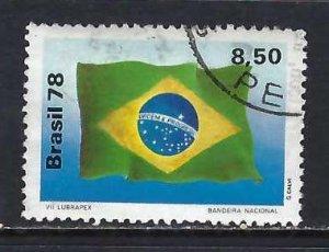 BRAZIL 1581 VFU FLAG 496C-3