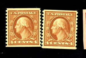 495 (2) MINT F-VF OH NH Cat $43