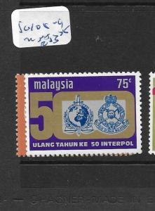 MALAYSIA  (P2605BB)  SG108-9       MNH