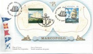 CANADA - FDC Marco Polo Ship Cache SC1779 1999