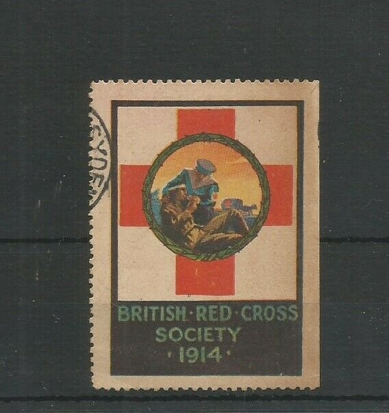 GB 1914 Cinderella / Poster Stamp For The British Red Cross Society