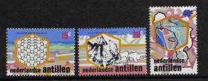Netherlands Antilles  #369-371  1975 MNH Bonaire Salt Industry complete