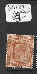 INDIA (P2409B) KE 3A  SG 127  MOG