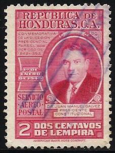 Honduras Air Mail 1949 Scott# C171 Used