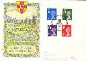 Great Britain Regionals Scott NIMH2-3,6,10 Pencil address.