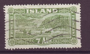 J25466 JLstamps 1925 iceland used #144 view