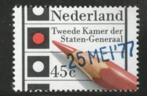 Netherlands Scott 569 MNH** 1977 Election stamp