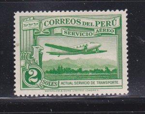 Peru C37 MH Plane