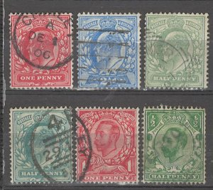 COLLECTION LOT # 5084 GB 6 STAMPS 1902+ CV+$23