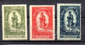 Liechtenstein 47-49 MH