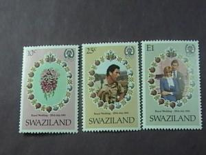 SWAZILAND # 382-384-MINT NEVER/HINGED----COMPLETE SET----1981