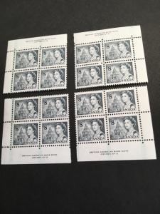 Canada USC #544pv Mint Plate 5 MS GT2 PVA VF-NH 1973 8c QE