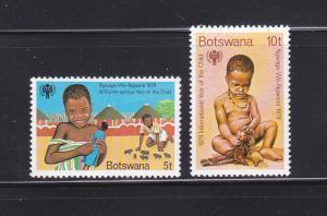 Botswana 237-238 Set MNH IYC
