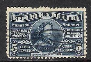 CUBA 263 VFU K772
