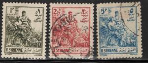 Syria Scott 378-380 Used short set
