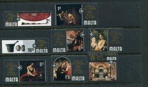 Malta #409-16 MNH
