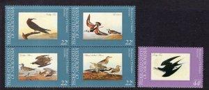 Micronesia 28a,C15 Birds MNH VF
