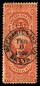 U.S. REV. FIRST ISSUE R44c  Used (ID # 63481)