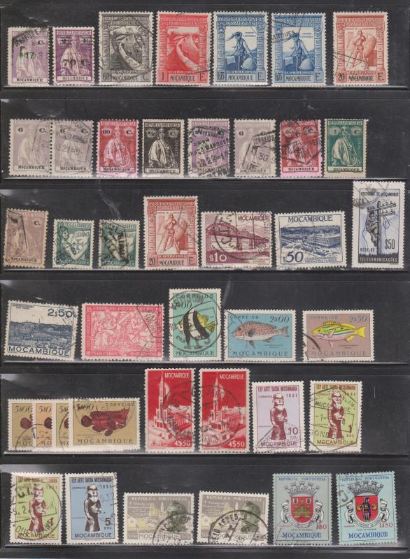 MOZAMBIQUE  - Collection Of Used Stamps - Nice Lot