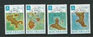 SEYCHELLES SG350/3 1976 RURAL POST MNH