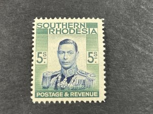 SOUTHERN RHODESIA # 54-MINT/NEVER HINGED---SINGLE---1937