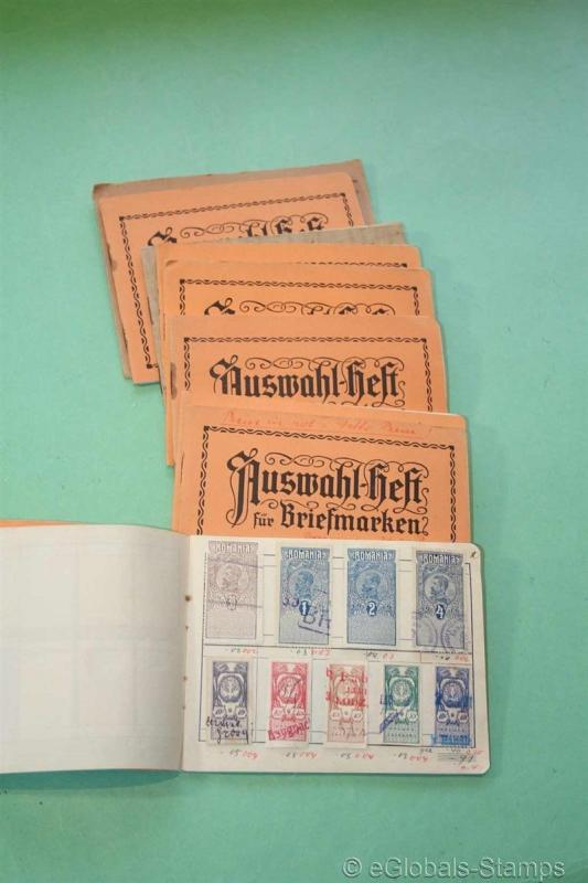 1100 Old FISCAL REVENUES Stamp Collection Switserland Italy Argentina