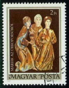 Hungary #2641 Three Marys, CTO (0.25)
