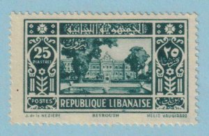 LEBANON 132  MINT HINGED OG * NO FAULTS EXTRA FINE !