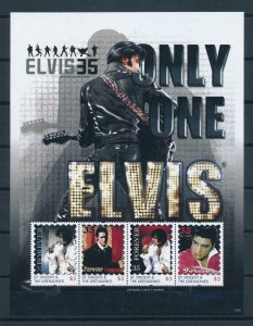 [107374] St. Vincent & Gren. 2012 Music Elvis Presley guitar Sheet MNH