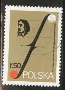 Poland Scott 2226 Used 1977  favor canceled Music stamp