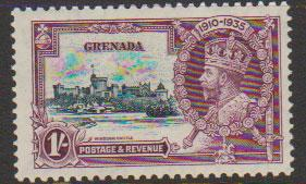 Grenada  GV SG 145 Mounted mint
