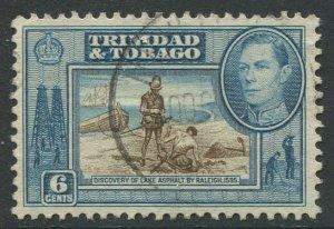 STAMP STATION PERTH Trinidad &Tobago #55 KGVI Pictorial Definitive Used 1938-41
