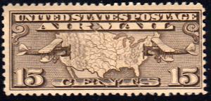 United States Scott C8 Mint never hinged.