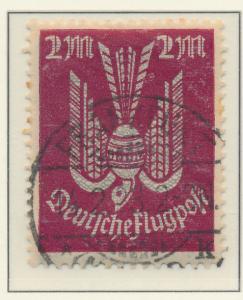 Germany Stamp Scott #C9, Used - Free U.S. Shipping, Free Worldwide Shipping O...