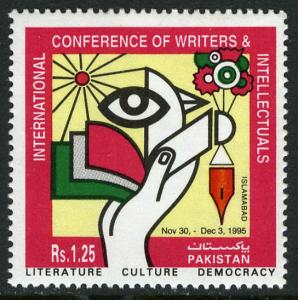 Pakistan 841, MNH. Intl. Conference of Writers & Intellectuals, 1995