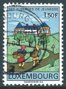 Luxembourg, Sc #454, 1.50fr Used
