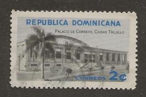 DOMINICAN REPUBLIC SC #  530   USED