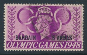 Bahrain SG 65 SC# 66  Used  see scans / details 1948 issue  Olympics