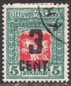 LITHUANIA SCOTT 122