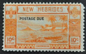 DYNAMITE Stamps: New Hebrides, British Scott #J7 – MINT hr