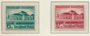Germany Stamps Scott #B121 To B122, Mint Lightly Hinged - Free U.S. Shipping,...