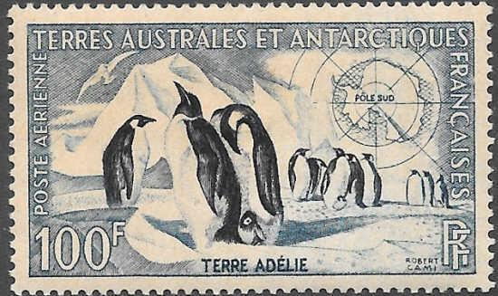 French Southern Antarctic Territories FSAT TAAF Scott C2 VF LH Cat US$60