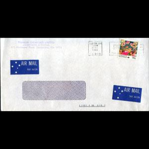 AUSTRALIA 1988 - Cover-Bank(WH607)