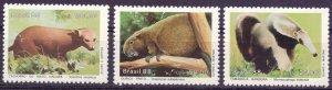 Brazil. 1988. 2259-61. Fauna, mammals. MNH.