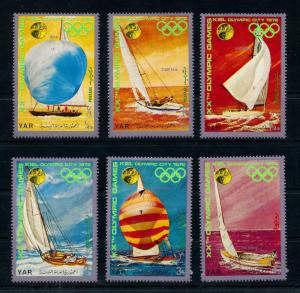 [77715] Yemen YAR 1971 Olympic Games Munich Sailing  MNH