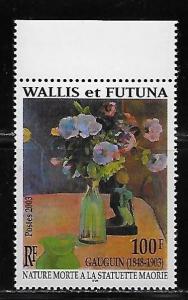 Wallis and Futuna Islands 572 Gauguin Painting single MNH