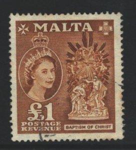 Malta Sc#262 Used