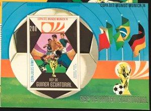 Equatorial Guinea #MiBl87 MNH S/S CV€7.50 FIFA Fußball-Weltmeisterschaft