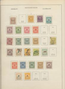 Germany Reich 1920s/30s  MH Used Inflation Air (Appx 130+Items) Ac 1343